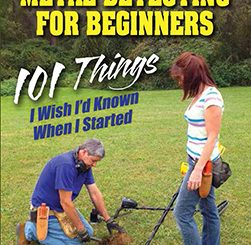 Metal Detecting for Beginners book cover